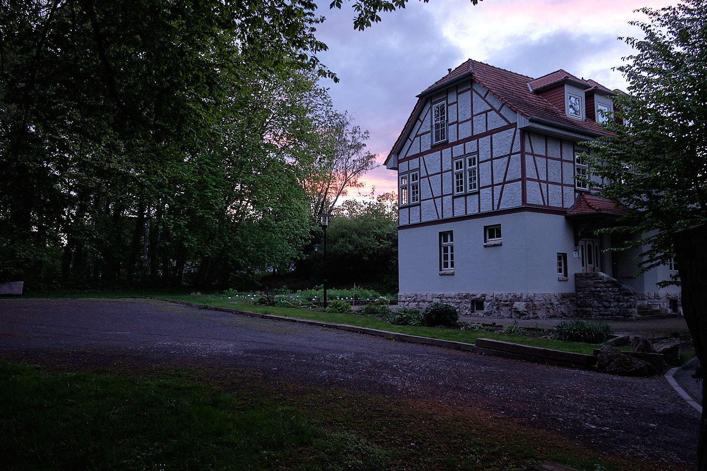 Guest house on the Botanic Garden of Bad Langensalza, Germany