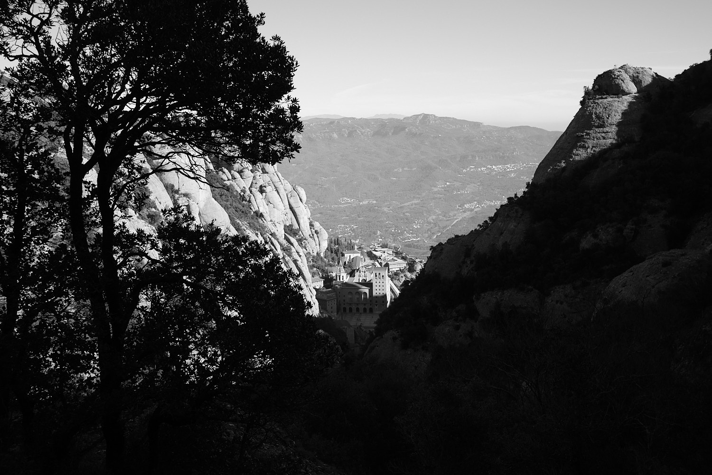 Barcelona, Montserrat, the creek path to the upper chapel