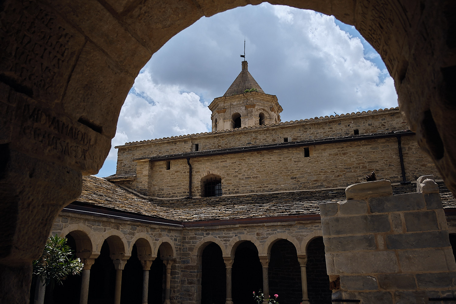 Cloister of the Cathedral of Roda de Isabena