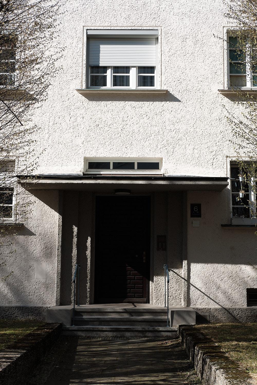 Neuhausen, Munich, Gewofag historical social residential development from 1920 to 1940 from Hans Döllgast, Gustav Gsaenger, Otho Orlando Kurz, Wolfgang Vogel and Peter Danzer.