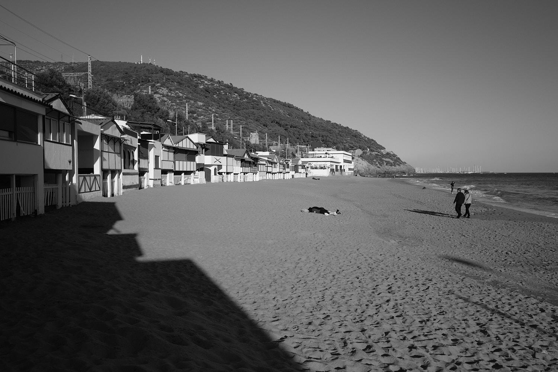 Barcelona, Garraf, les casetes del Garraf, beach houses in Spain