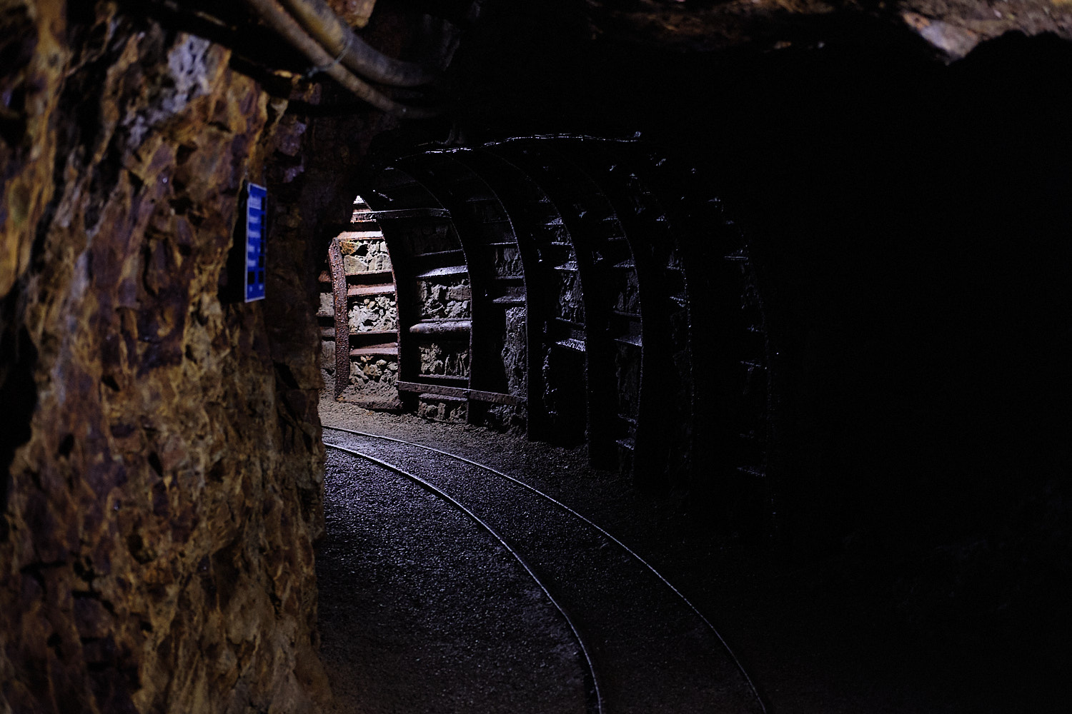 Museum of the graphite mines in Hauzenberg, Germany