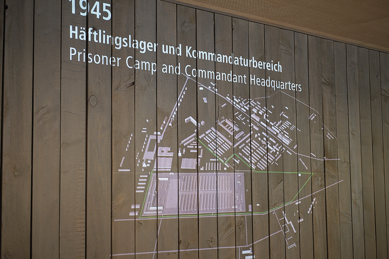 Historical site of the concentration camp of Dachau. Visitors centre