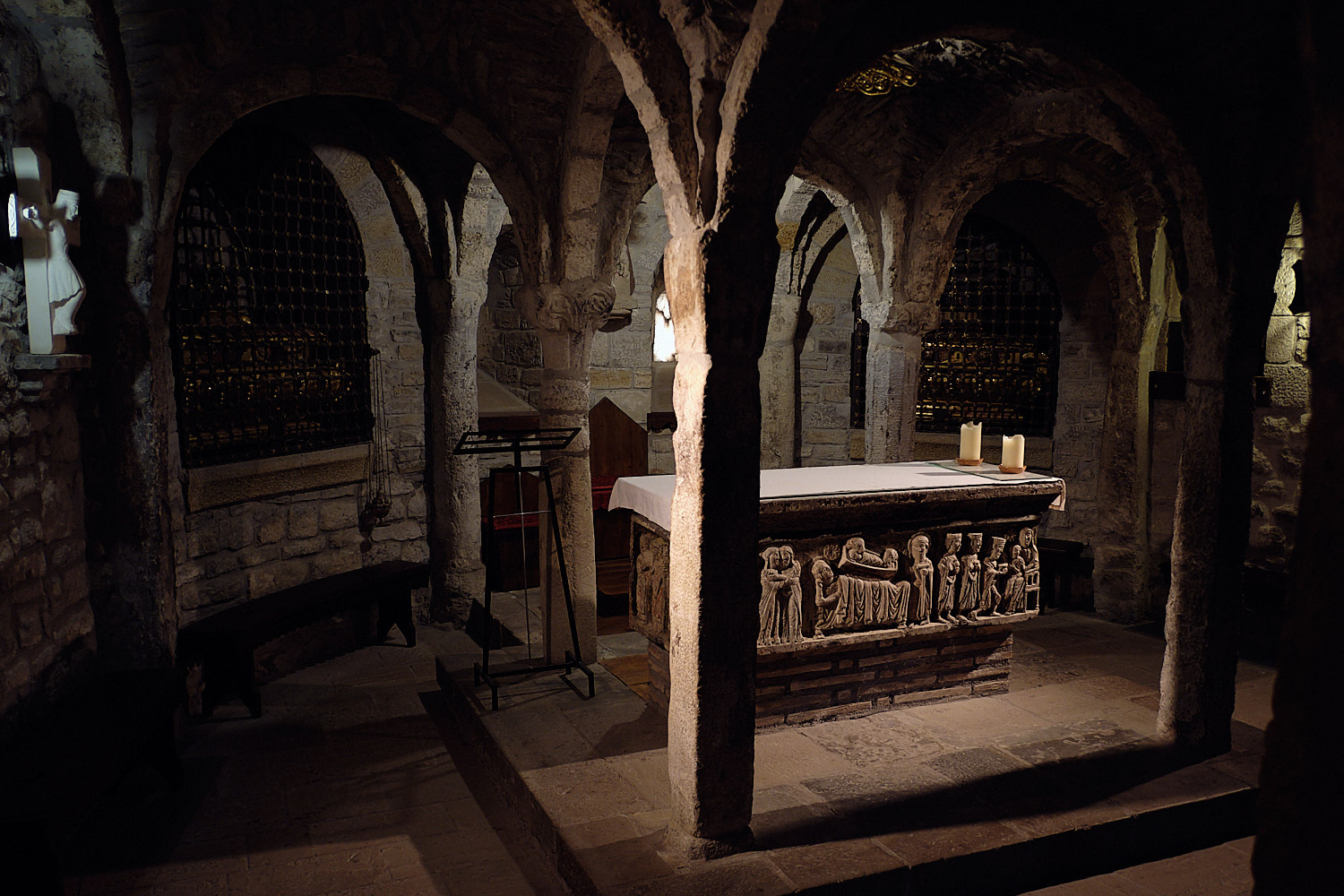 Crypt of the Cathedral of Roda de Isabena