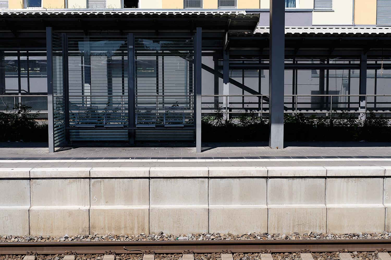S-Bahn station Feldmoching, Munich