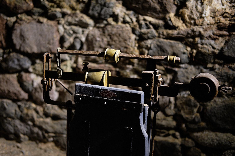 Museum of the old but still in use salt prospection installations in Gerri de la Sal, Lleida, Spain
