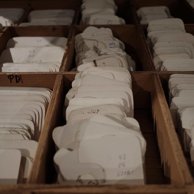 Fagus Werk, Walter Gropius, Alfeld, register of lasts