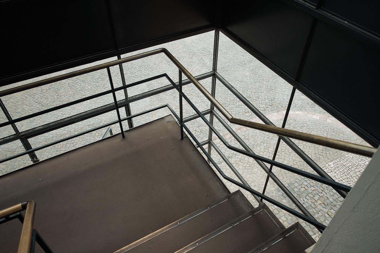 Fagus Werk, Walter Gropius, Alfeld, stairways to the offices