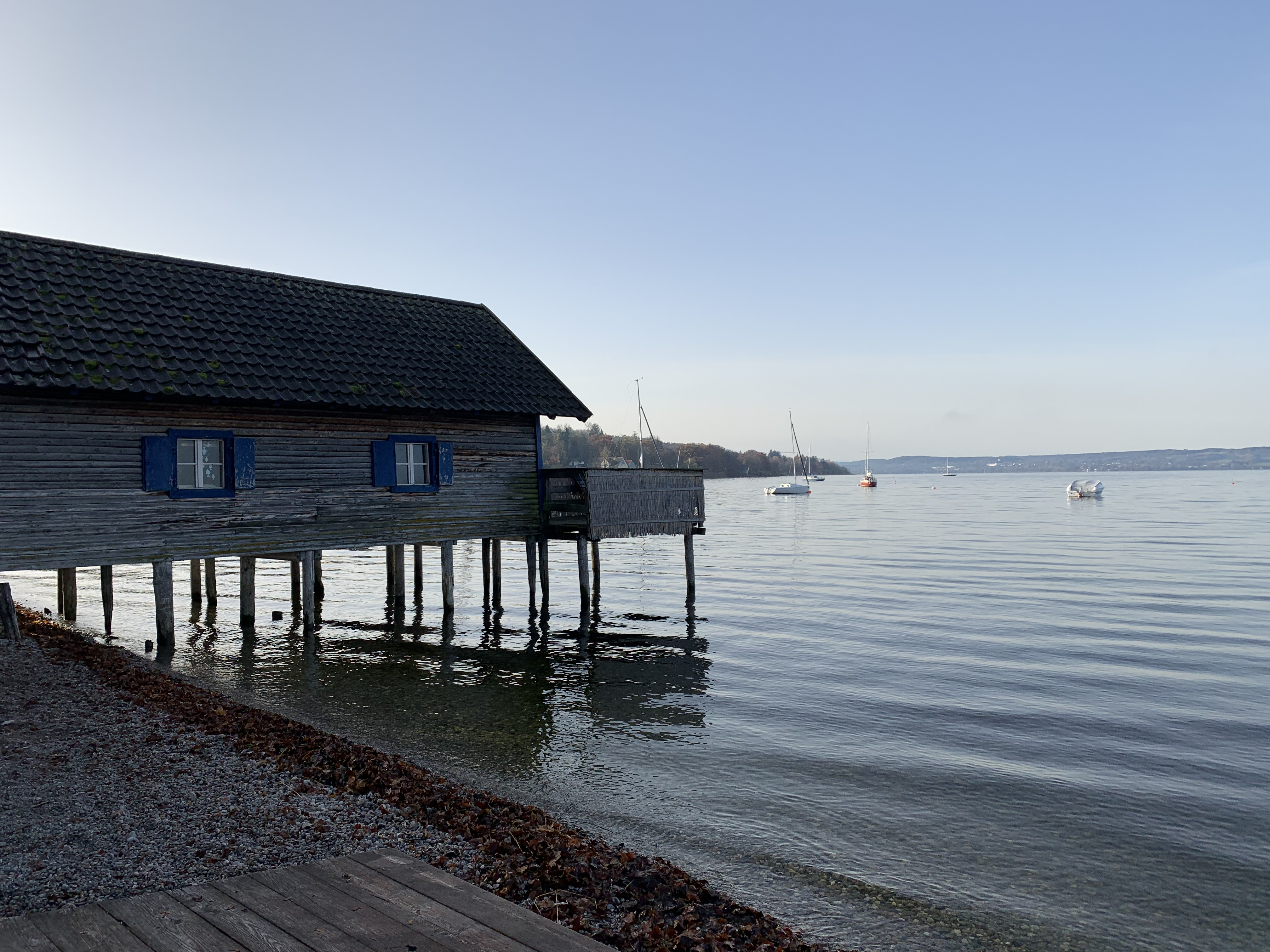 Boathouse in Ammersee