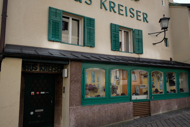 Berchtesgaden hut shop