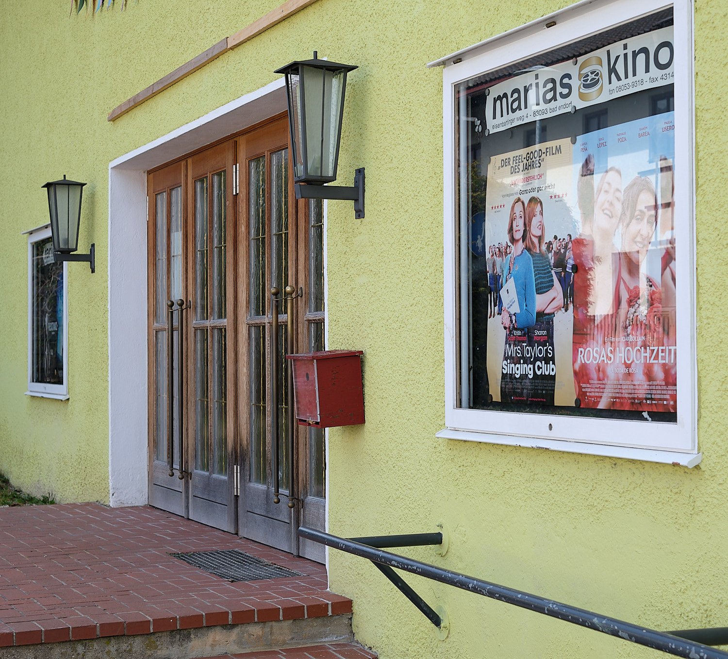Town cinema at Bad Endorf, Bavaria