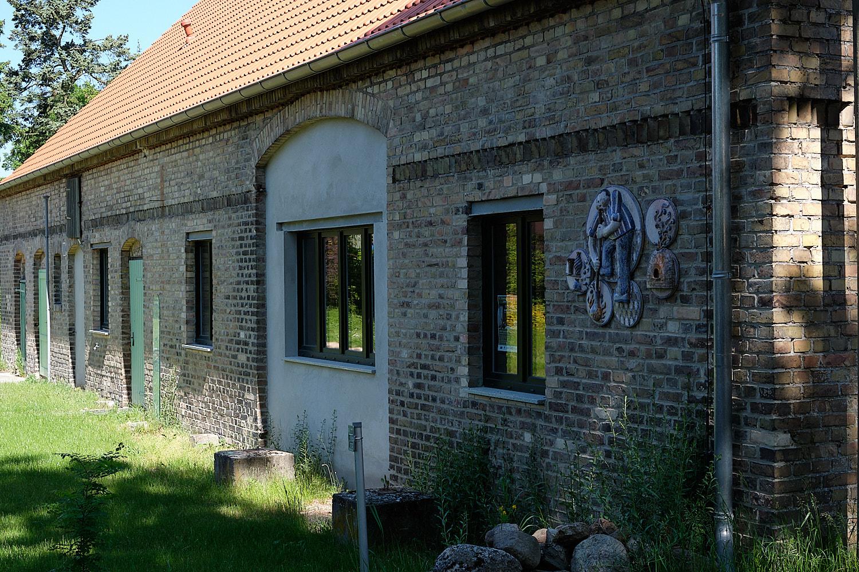 Glas blowers building in Brandenburg