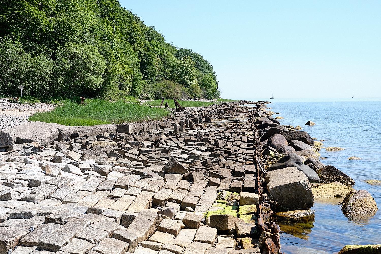 abandoned embarkment in Rügen