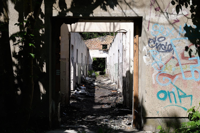 abandoned settlement in Rügen