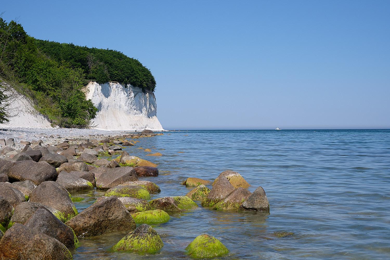 Chalk cliffs in Rügen